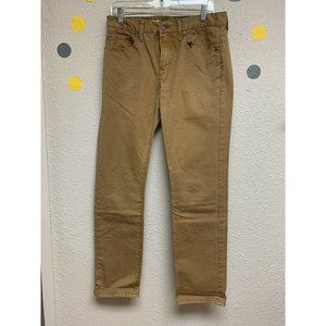 GAP Men's Tan 1969 Straight Leg Corduroy Pants